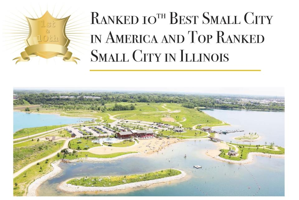 Best Small City Award Poster