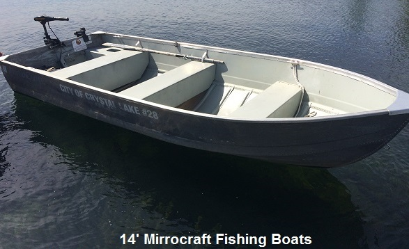 14' Mirrocraft Fishing Boats