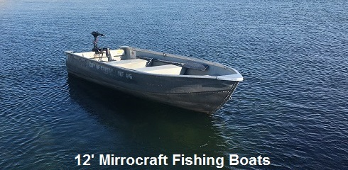12' Mirrocraft Fishing Boats