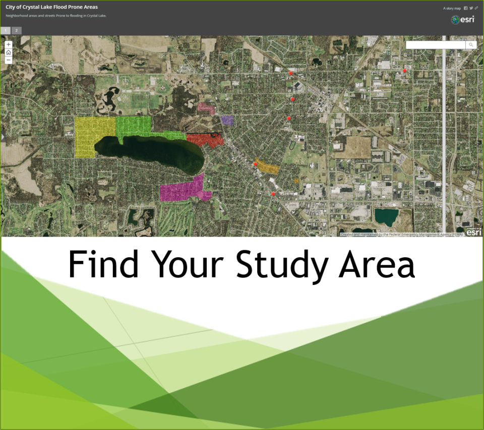 Find your study area