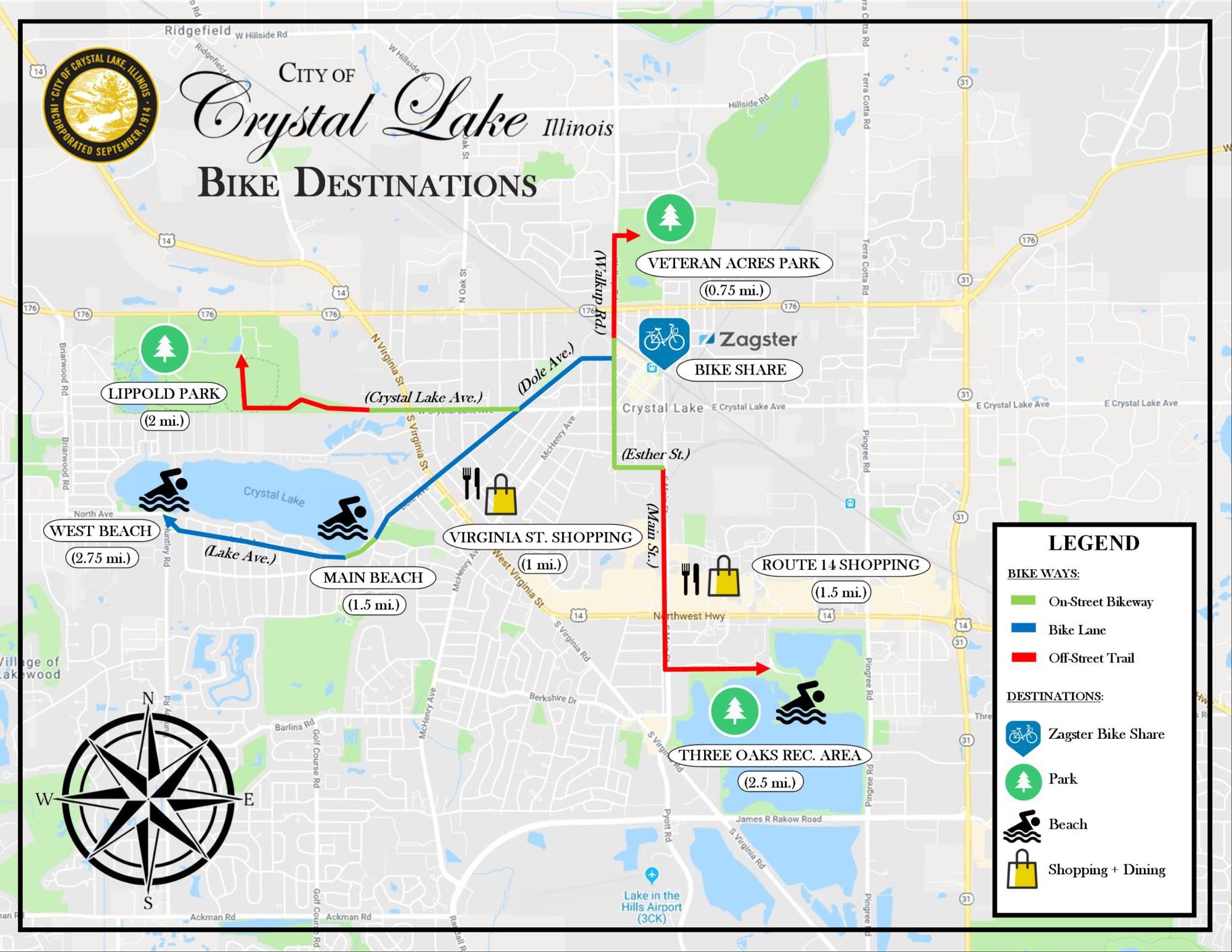 crystal lake illinois map Helpful Maps Crystal Lake Il crystal lake illinois map