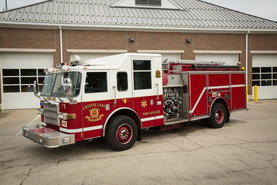 Crystal Lake Fire Engine