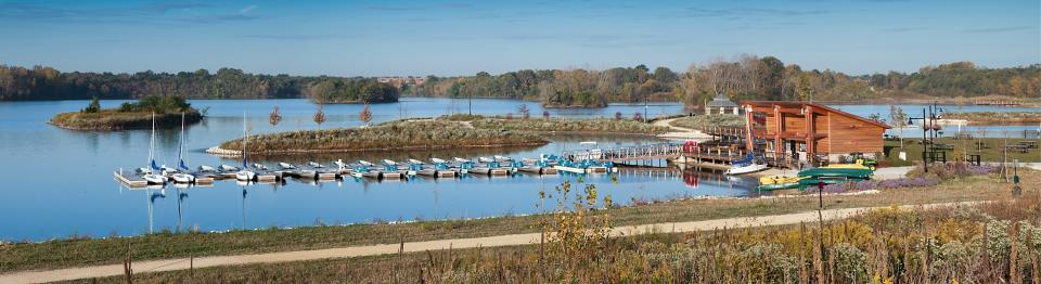 Three Oaks Recreation Area Marina