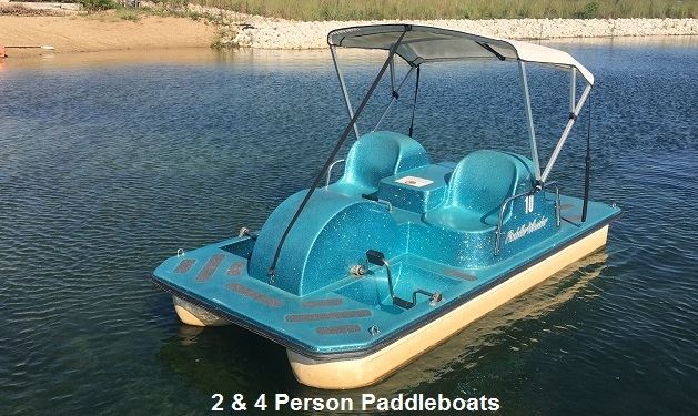 2 & 4 Person Paddleboats