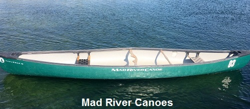16' Mad River Explorer Canoes