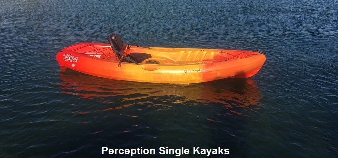 Perception Single Kayaks