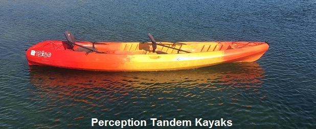 Tandem Perception Kayak