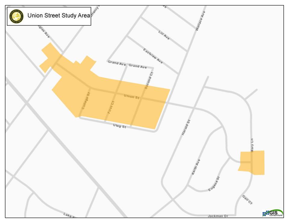 Union Street Study Area