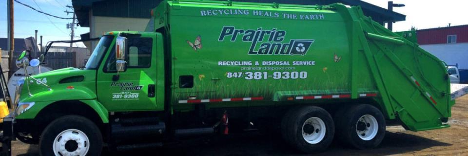 Prairieland Disposal Truck